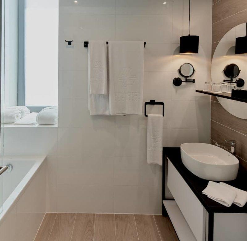 Smart double bathroom