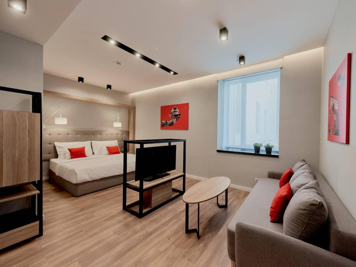 Up Studio bed - Up Hotel Budapest